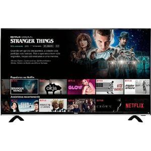 """Smart TV LED 49"""" Philco PTV49e68dSWN Full HD com Conversor Digital 3 HDMI 1 USB Wi-Fi 60Hz - Preta - R$1259"""