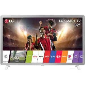 "Smart TV LED 32"" 32LK610 HD com Conversor Digital 2 HDMI 2 USB Wi-Fi 60Hz - Branco   R$804"