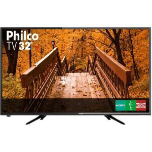 """[APP] TV LED 32"""" Philco PTV32B51D Resolução HD com Conversor Digital 2 HDMI 2 USB Recepção Digital - R$708"""