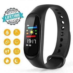 [AME 50%] Relógio Smartband Pulseira Inteligente M3 Batimentos Cardíacos | R$70