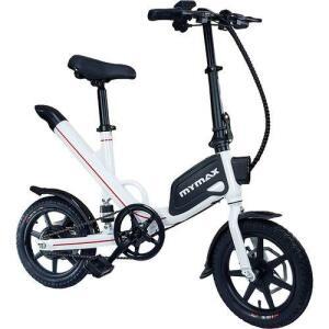 [APP] E-bike Way Aro 14 Com Pedal Aut. Ate 35km Branco | R$2.335