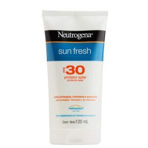 Protetor Solar Sun Fresh FPS 30, Neutrogena, Branco, 120Ml | R$29