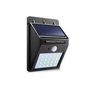 Luminária solar para parede com sensor de presença - Kit led - R$24