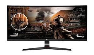 "Monitor Gamer Full HD LG Curvo Ultrawide IPS 34"" - 34UC79-G - R$2239"