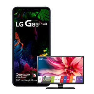 Compre um LG G8S THINQ entre 25/07 e 15/08 e ganhe uma Smart TV | R$2.709