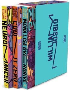 Box de livros Trilogia Sprawl de William Gibson - R$71