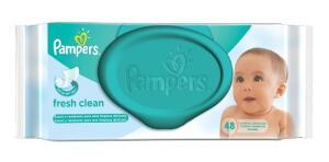 Toalhinhas Umedecidas Pampers Fresh Clean C/ 48 R$10