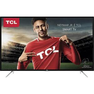 Smart TV LED 43'' TCL L43S4900FS Full HD com Conversor Digital 3 HDMI 2 USB Wi-Fi 60Hz - Preta | R$1.195