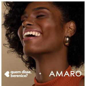 Ganhe um brinde da Quem disse, Berenice? fazendo compras na Amaro