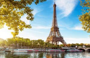 Londres e Paris, na mesma viagem, saindo do Rio de Janeiro. Todos os trechos, com taxas incluídas, a partir de R$2.183