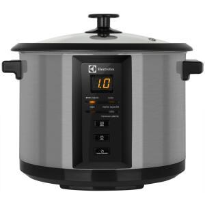 Panela Elétrica Multifuncional Electrolux 10 Copos Chef ECC20 Preta e Inox 110V - R$186