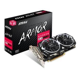 Placa de Vídeo MSI AMD Radeon RX 570 Armor 8G OC, GDDR5 (12% OFF)