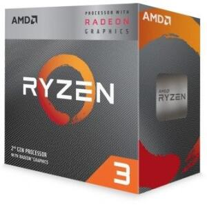 PROCESSADOR AMD RYZEN 3 3200G 3.6GHZ (4.0GHZ TURBO), 4-CORE 4-THREAD, COOLER WRAITH STEALTH, AM4 - R$460
