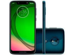 """[APP / Clube da Lu] Smartphone Motorola G7 Play Edição Especial 32GB - Indigo 2GB RAM 5,7"""" Câm. 13MP + Câm. Selfie 8MP - R$629"""