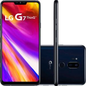 """Smartphone LG G7 ThinQ 64GB Dual Chip 4GB RAM Tela 6.1"""" (Cartão Shoptime)"""