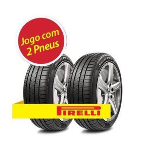 [Cartão Americanas] Kit Pneu Pirelli 205/55R16 Cinturato P1 Plus 91V 2 Unidades  por R$ 371