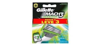 Carga Gillette Mach 3 Sensitive L3 P2 - R$13