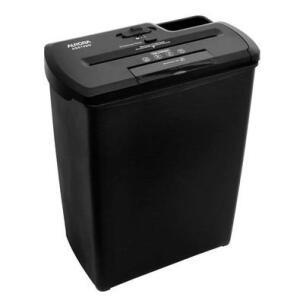 Fragmentadora Aurora Corte em Tiras 08 Folhas, Cartão, CD, DVD, Grampo com cesto 12L 110V - AS810SD | R$262
