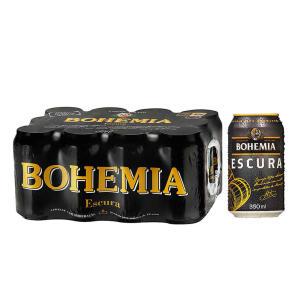 Cerveja Bohemia Escura 350ml Caixa (12 unidades) | R$24