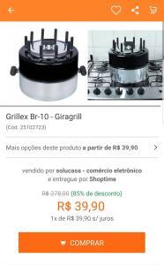 Grillex BR-10 - Giragrill