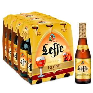Cerveja Leffe Blonde 330ml caixa (24 unidades) | R$150