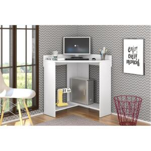 Mesa para Computador ou Escritório Olivar Móveis Click com Prateleira e Porta-CPU R$137