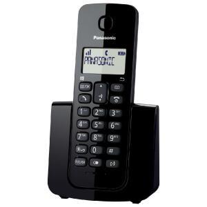 Telefone sem fio Panasonic com ID chamadas Preto KX-TGB110LBB | R$79