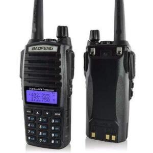 Rádio Ht Comunicador Baofeng Dual Band Uv-82 Rádio Fm | R$94