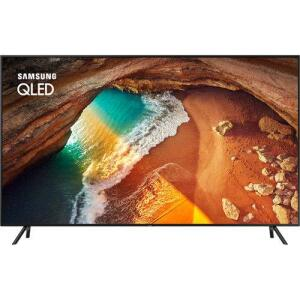 "Smart TV QLED 55"" Samsung 55Q60 UHD 4K 4 HDMI 2 USB Wi-Fi Modo Ambiente 120Hz- Preta | R$3329"