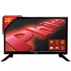 Smart TV LED 28´ HD Philco, HDMI, USB - PH28N91DSGWA - R$699