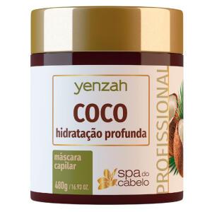 Máscara de Hidratação Profunda Yenzah - SPA do Cabelo Coco - 480g R$22