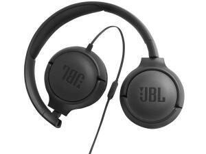 Headphone JBL TUNE 500 com Microfone - Preto R$109
