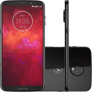 [Cartão Shoptime] Motorola Moto Z3 128 GB - R$ 1.376