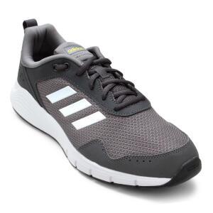 Tênis Adidas Fluidcloud Neutral Masculino - Cinza e Branco - Tam 39 | R$125