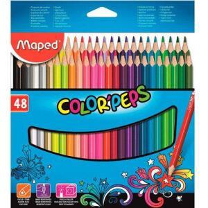 Lápis De Cor Maped 48 Cores | R$40