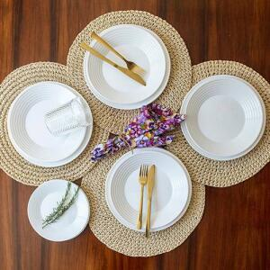 Aparelho de Jantar 12 Peças Saturno - La Cuisine by Nadir | R$53