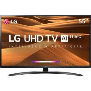 "[App] Smart TV Led 55"" LG 55UM7470PSA UHD Thinq Ai Conversor Digital Integrado 3 HDMI 2 USB Wi-Fi - R$2609"