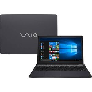 "[APP] Notebook Vaio Fit 15S B5411B Intel Core i7 4GB 1TB Tela LCD 15,6"" W10 - Chumbo   R$2.374"
