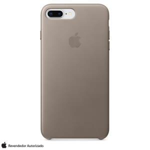 Capa para iPhone 7 e 8 Plus de Couro Taupe - Apple - MQHJ2ZM/A R$199