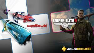 [PS Plus] Jogos Grátis de Agosto - Wipeout Omega Collection / Sniper Elite 4