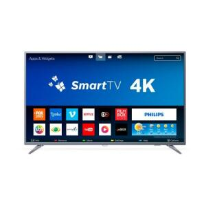 "Smart TV LED 55"" Philips 55PUG6513/78 Ultra HD 4k com Conversor Digital 3 HDMI 2 USB Wi-Fi 60hz - R$1.967"