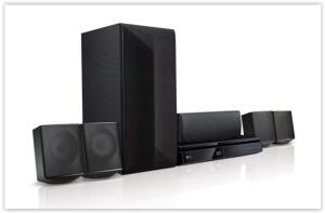 Home Theater LG LHB625M 5.1 Canais com Blu-ray Player 3D, Smart TV por R$ 749