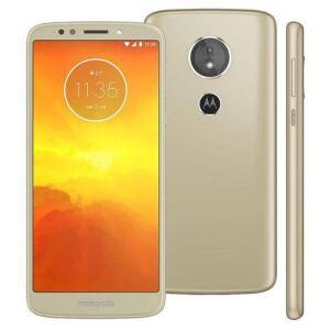 Smartphone Motorola Moto E5 Dual Chip 16GB - Ouro | R$489