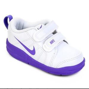 [APP] Tênis Infantil Nike Pico Lt - Branco e Roxo