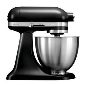 [Cartão Shoptime] Batedeira Stand Mixer Kitchenaid Artisan Mini Black Matte - Kea25ae 110V - R$959