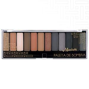 Paleta de Sombras Marchetti Black Smoked - 16g R$23