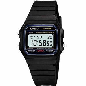 Relógio Masculino Casio Digital Esportivo F-91W | R$69