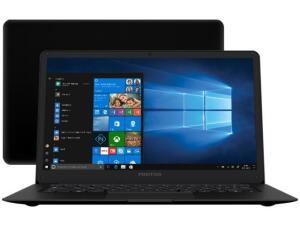 Notebook Positivo Motion Black Q 232A Intel Atom - 2GB SSD 32GB - R$836