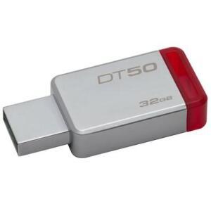 Pen Drive Kingston DataTraveler USB 3.1 32GB - DT50/32GB - Vermelho