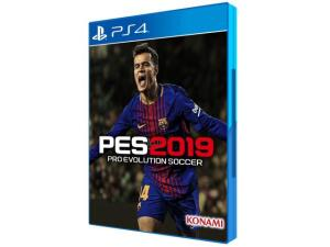PES 2019 Pro Evolution Soccer para PS4 - Konami - R$50